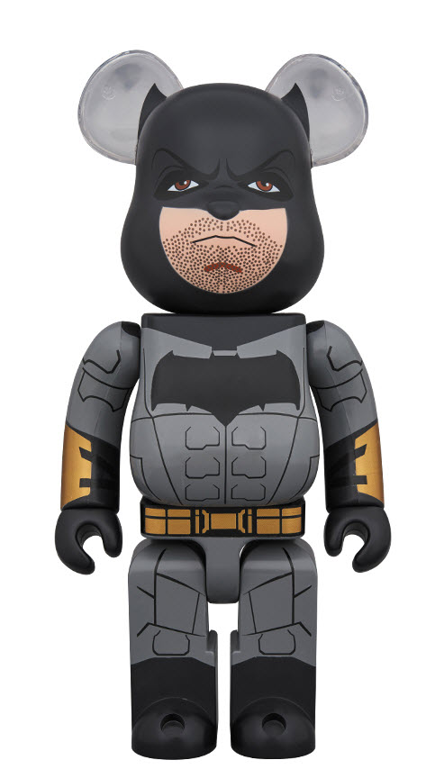 Bearbrick Batman [Justice League Ver.] (400%)