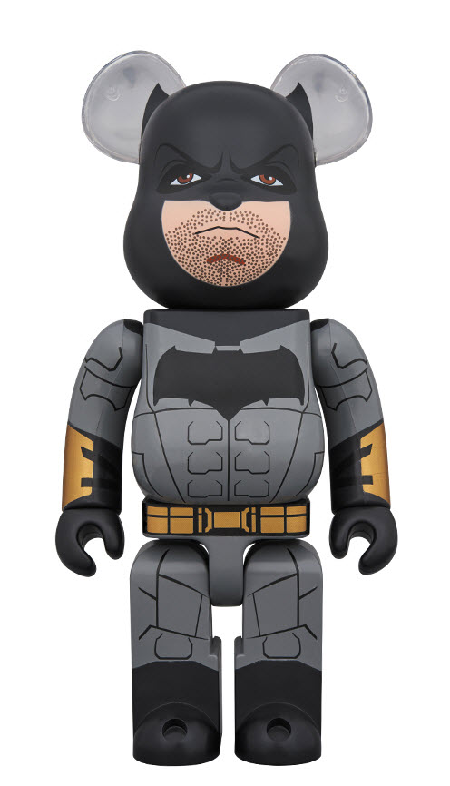 Bearbrick Batman [Justice League Ver.] (1000%)
