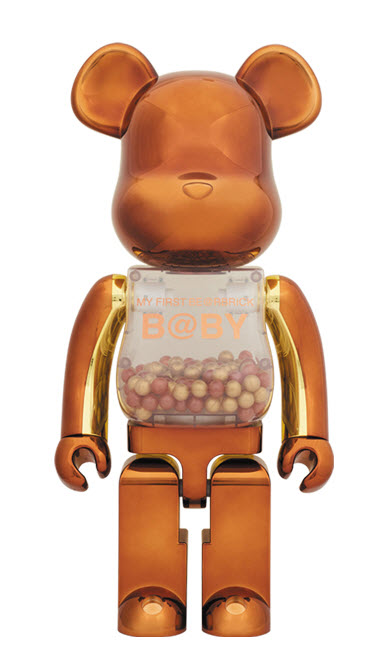 Bearbrick My First Be@rbrick B@by [Steampunk Ver.] (1000%)