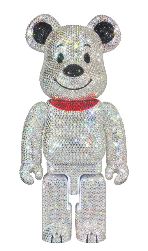 Bearbrick Snoopy [Crystal Decorated] (400%)