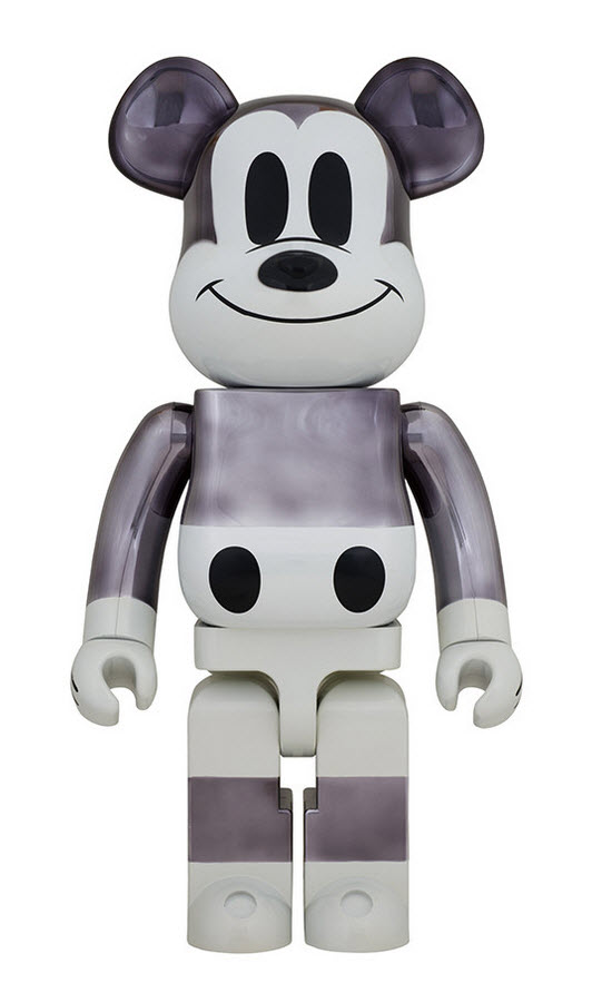 Bearbrick fragment design x Mickey Mouse [90th Anniversary] (400%)
